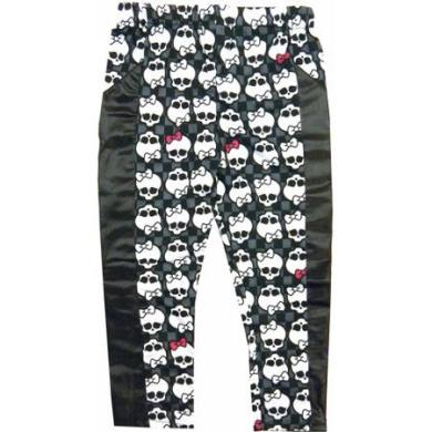 Black and White Monster High Creeperific Leggings Child Halloween Costume