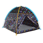 Pacific Play Tents Galaxy Dome Tent with Glow In Dark Stars Playhouse