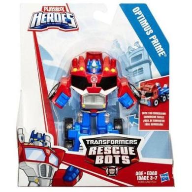 Transformers Playskool Heroes Optimus Prime Action Figure [Rescan, 2015]