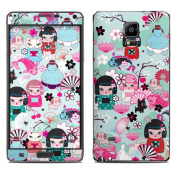 DecalGirl SGN4-KIMCUT for for for for for for for for for for Samsung Galaxy Note 4 Skin - Kimono Cuties