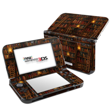 DecalGirl N3DSLL-LIBRARY Nintendo 3DS LL Skin - Library