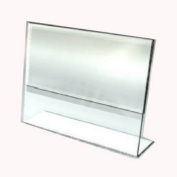 Southern Imperial S01-SH-SLB810 10 Pack 8.5 x 11 W in. Slant Back Acrylic Sign Holder