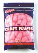 CHENILLE KRAFT COMPANY CK-6402 CRAFT FLUFFS PINK