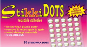 The Stikkiworks Co. STK02050 Stikki Wax Dots 50 Per Bag
