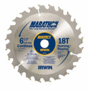 Irwin 24020 17cm x 0.9cm . 18 Tooth C3 Carbide Tipped Marathon Saw Blade Pack Of 10