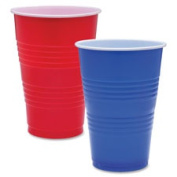 Genuine Joe GJO11250 Party Cups 470ml 50-PK Blue