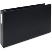 Bus. Source Tabloid-size Black Reference Binder