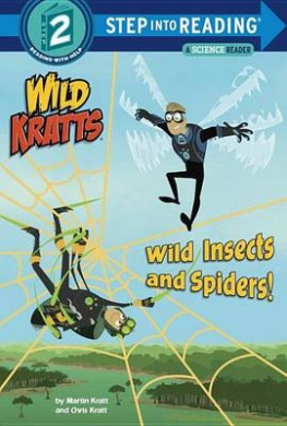 Wild Insects and Spiders! (Wild Kratts) (Step Into Reading: A Step 2 Book)