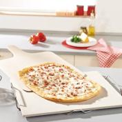 Household Essentials 03160 Leifheit Square Ceramic Pizza Stone