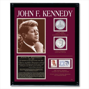 American Coin Treasures 805 Kennedy Framed Tribute Collection
