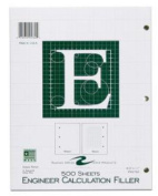 Roaring Spring Paper Products 95782 Engineering Pad - 10 Per Case