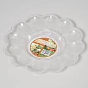 RGP G25050N 23cm . Egg Serving Plate 12 Wells Pack Of 72