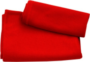 Discovery Trekking Outfitters 90cm x 150cm . Ultra Fast Dry Towel Red