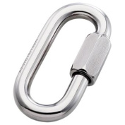 Steel Quick Link Std Zicral Plated 10 mm.