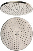 Dawn Kitchen & Bath RSS240400-8 20cm . Round Rain Showerhead - Brushed Nickel