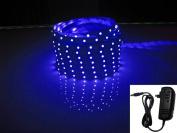 LED2020 LD-SP-B-SET Plug-N-Play Waterproof Blue LED Flexible Light Strip
