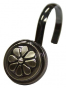 Elegant Home Fashions HK40160 Waggon Wheel Shower Hooks Oil Rubbed Bronze