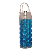 Chill It Bags Wine Cooler Bag Round Blue