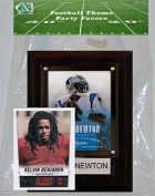 Candlcollectables 46LBPANTHERS NFL Carolina Panthers Party Favour With 4 x 6 Plaque