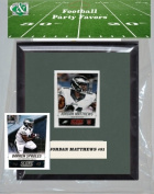 Candlcollectables 67LBEAGLES NFL Philadelphia Eagles Party Favour With 6 x 7 Mat and Frame