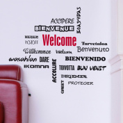 Crearreda CR-62132 Welcome Wall Decals