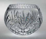 Majestic Gifts MA-120-5 Majestic 13cm . Crystal Rose Bowl