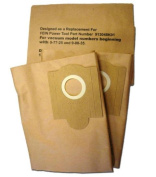 GK MicroPlus For Fein Power 913048K01 Turbo Iii Replacement Paper Dust Bag Pack of 36