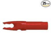 Bohning Blazer HE (Easton H) Nocks Carbon Arrows Red 25/Pkg