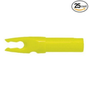 Bohning Blazer HE (Easton H) Nocks Carbon Arrows Neon Yellow 25/Pkg