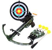PowerTRC® Military Toy Crossbow Set w/ Target