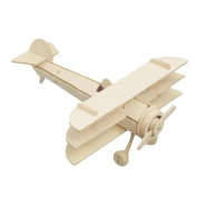 DIY Wooden Aircraft Plane Assemble Puzzle Toy Gift for Children