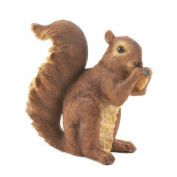 Eastwind Gifts 10016954 Nibbling Squirrel Garden Statue