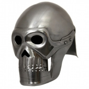 EcWorld Enterprises 8880684 Handcrafted Fantasy Ghost Pirate Skeleton Battle Armour Helmet - Silver