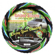 Cameleon Cover Jungle Mix Ionised New Silicone Jungle Style Steering Wheel Cover