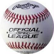 Olympia Sports BA570P Rawlings Leather RPBX Baseball