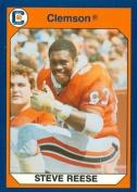 Autograph Warehouse 96781 Steve Reese Football Card Clemson 1990 Collegiate Collection No. 46