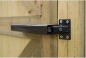 Lockey TB-175 Black Hydraulic Gate Closer Black
