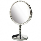 Jerdon Style LT5165C 20cm . 5X-1X Table Top MirrorChrome Height 33cm .