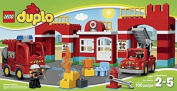 block DUPLO Town Fire Station Toy for Kids (105pcs) Figures Building Block Toys
