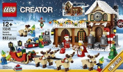 block Creator Expert Santa's Workshop Christmas (883pcs) Figures Building Block Toys