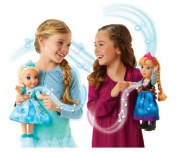 Disney Frozen Bilingual Singing Sisters Elsa and Anna Dolls