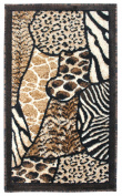 Animal Skin Prints Patchwork Leopard zebra Rugs 4 Less Collection Door Mar Area Rug R4L 70