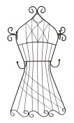 Boston Warehouse Accessories Holder, Dress Form