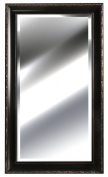 Gallery Solutions Embossed Bronze Mirror, 60cm by 120cm