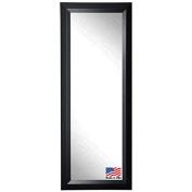 Rayne Mirrors American Made Angle Full Body Mirror, 70cm by 160cm , Black