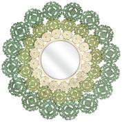 Benzara IMX-74313 Artistic Mcguire Medallion Mirror