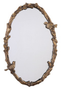 Uttermost 13575 60cm by 90cm Paza Oval Mirror