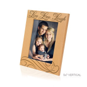 Kate Posh - Live Love Laugh Wooden Picture Frame