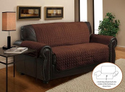Home Sweet, Deluxe Plush, Quilted Furniture Sofa Slipcover Protectors