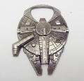 High Quality Star Wars Millennium Falcon Metal Alloy Bottle Opener